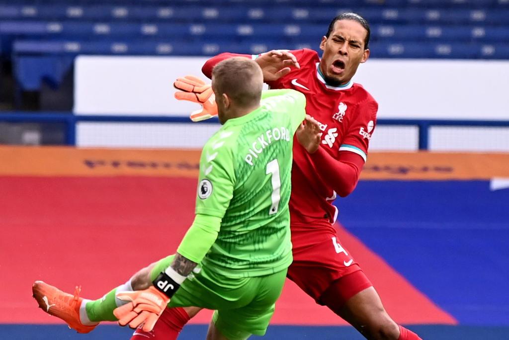 Sancionarán al portero del Everton por causar lesión a Van Dijk. Noticias en tiempo real