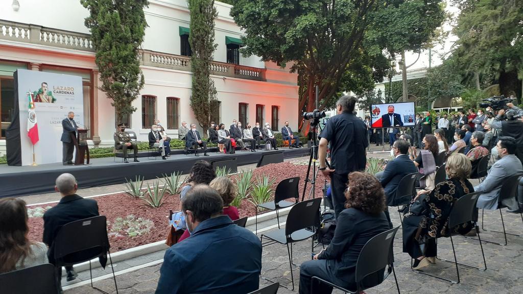 Transforman casa en museo por aniversario luctuoso de Lázaro Cárdenas. Noticias en tiempo real