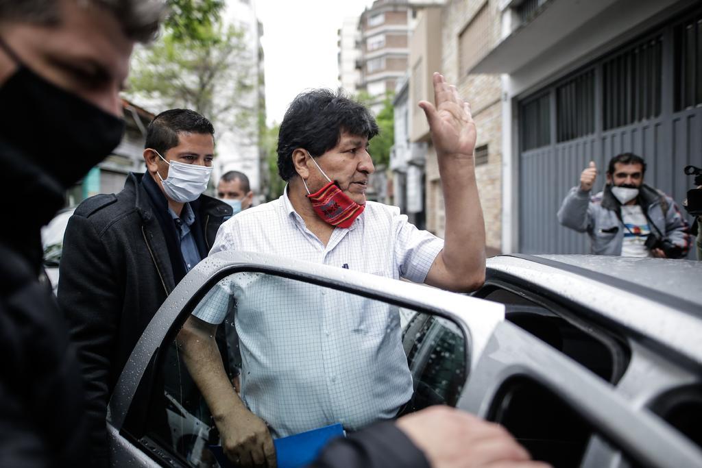 Sale Evo Morales de Argentina; tiene como destino Venezuela. Noticias en tiempo real