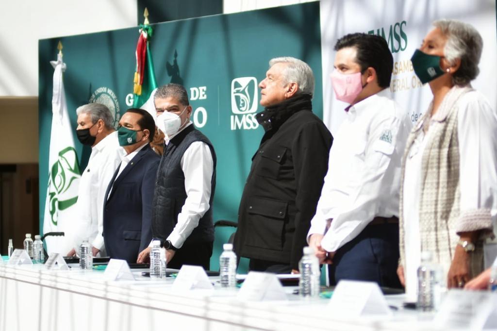 Concluye gira de AMLO en Coahuila; seguirá impulsando desarrollo y anuncia rescate del ISSSTE. Noticias en tiempo real