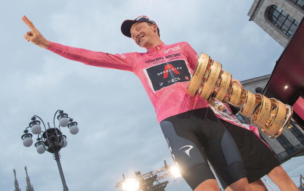 Tao Geoghegan Hart se corona campeón del Giro de Italia. Noticias en tiempo real