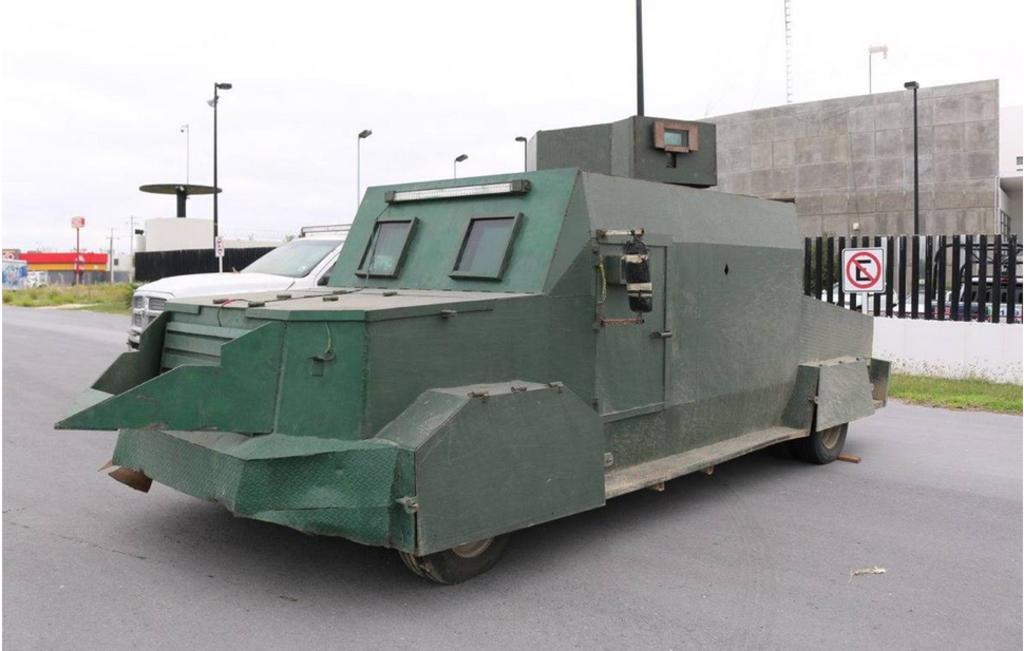 Aseguran vehículos con blindaje artesanal en Tamaulipas. Noticias en tiempo real