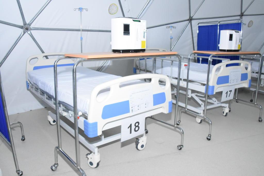 Sin pacientes COVID el Hospital Móvil 2 de Monclova: Moisés Itzkowich. Noticias en tiempo real
