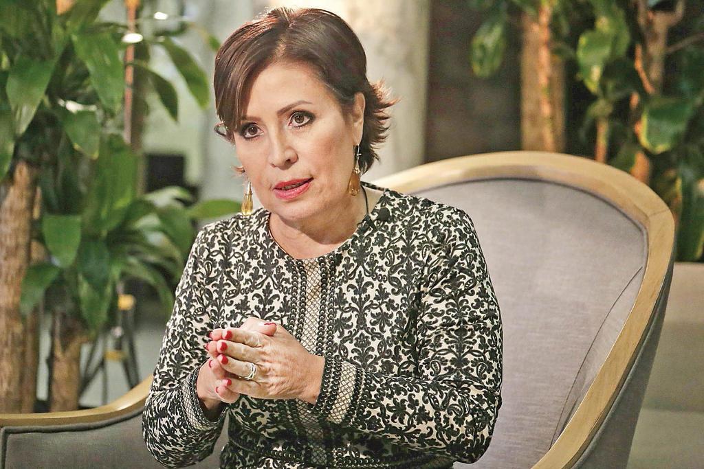 FGR me tiene como rehén: Rosario Robles. Noticias en tiempo real