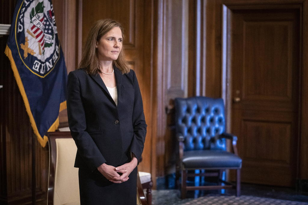 Confirma Senado de EUA a Amy Coney Barrett como jueza de la Corte Suprema. Noticias en tiempo real