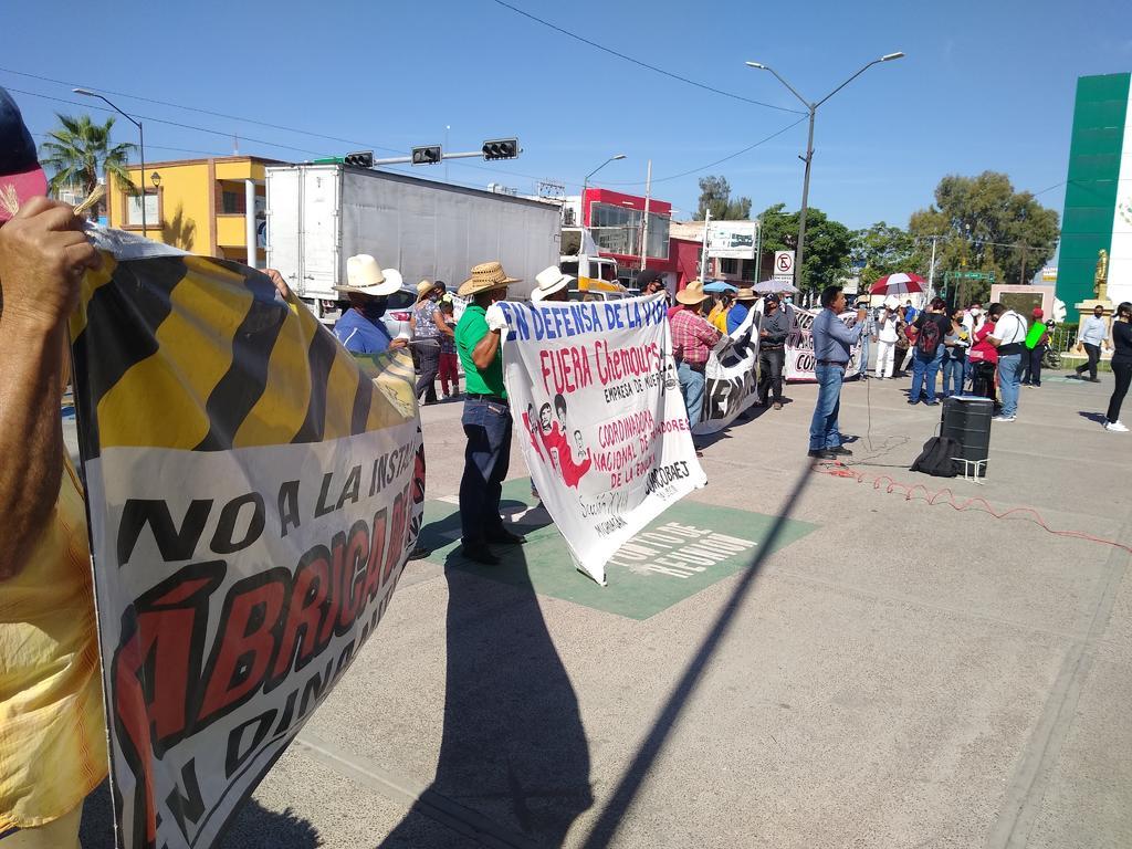 Protestan en Presidencia de Gómez Palacio; piden a AMLO que cumpla su palabra. Noticias en tiempo real