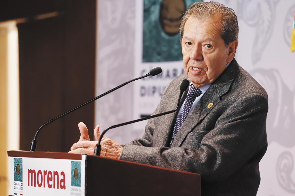 Anuncia Muñoz Ledo lucha judicial por presidencia de Morena. Noticias en tiempo real