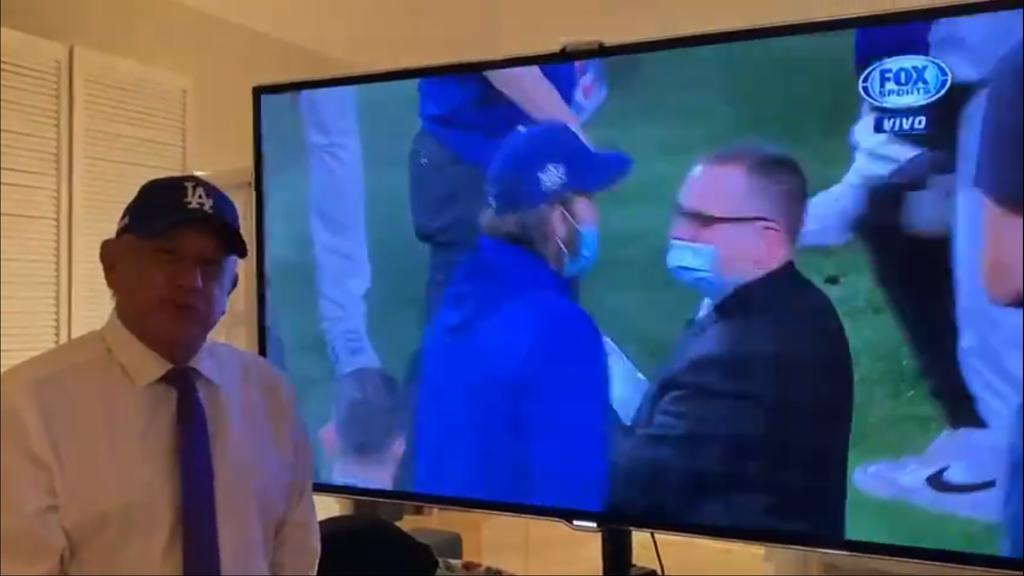 Festeja AMLO triunfo de los Dodgers en la Serie Mundial. Noticias en tiempo real