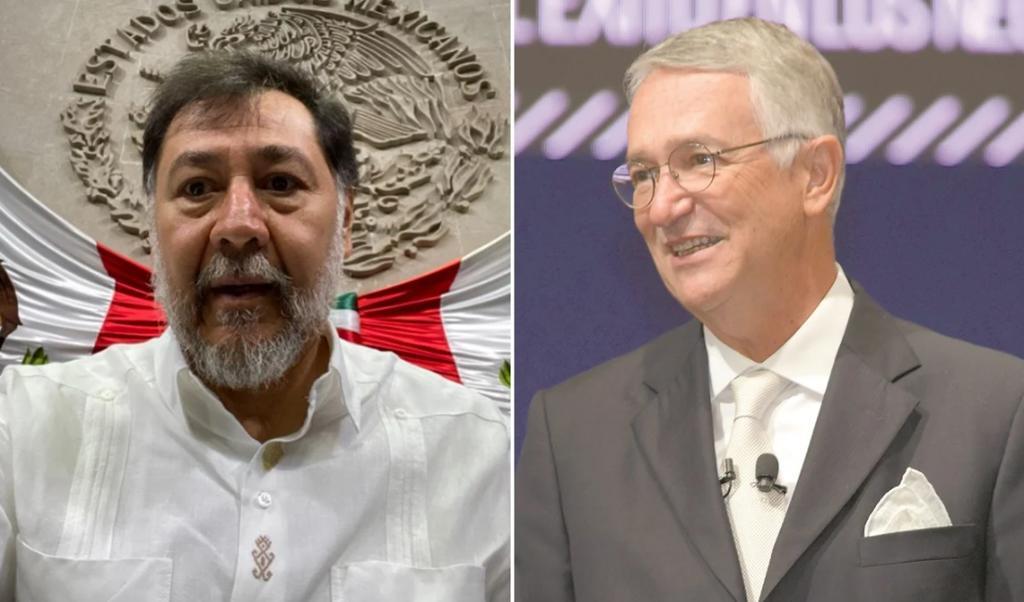 ¿Qué consejo darías para cumplir sueños?, pregunta Ricardo Salinas a Fernández Noroña. Noticias en tiempo real