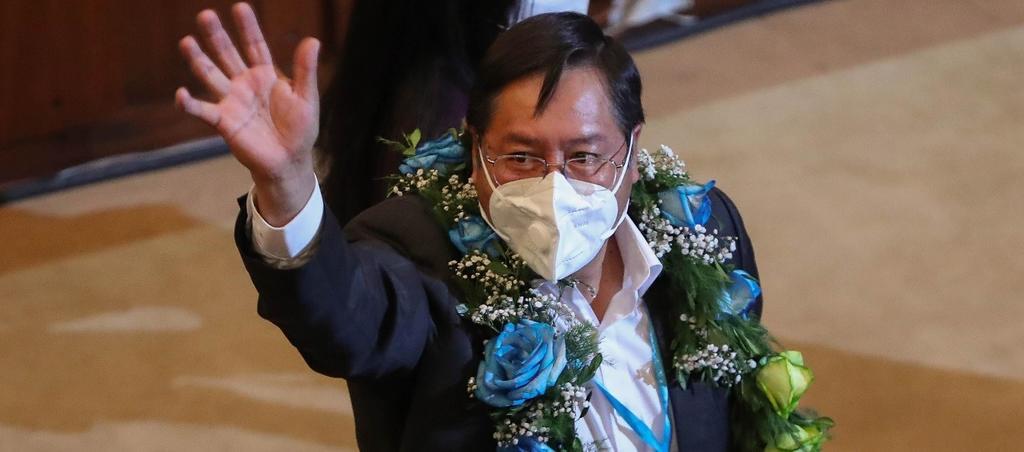 Recibe Luis Arce su credencial como presidente electo de Bolivia. Noticias en tiempo real