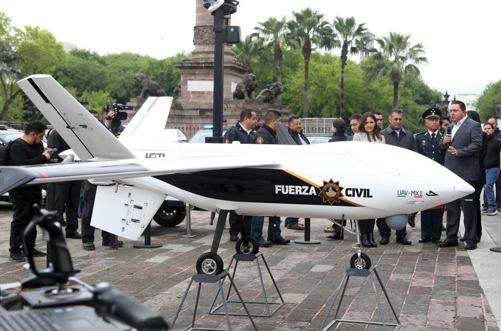 Paga Nuevo León por dron casi 29.8 millones de pesos. Noticias en tiempo real