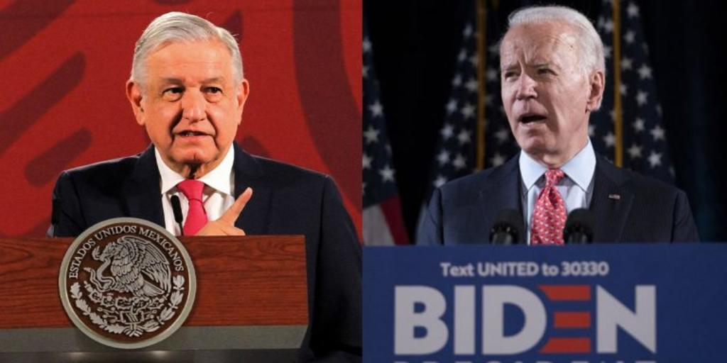 Reitera AMLO que esperará para reconocer triunfo de Joe Biden en EUA. Noticias en tiempo real