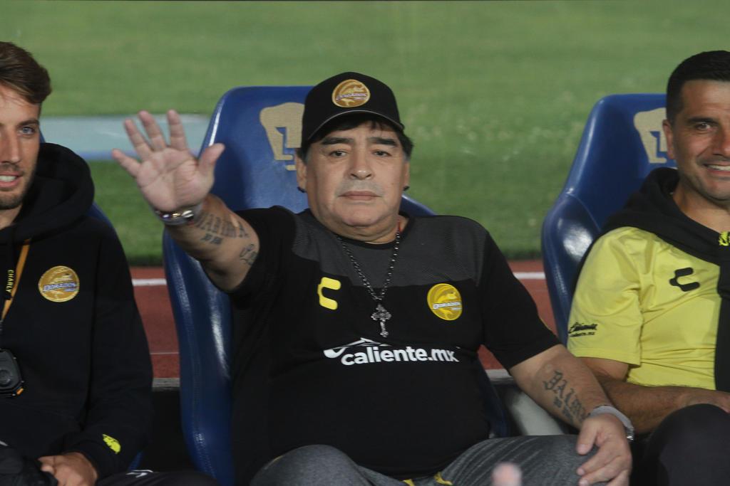 Te amaremos siempre, jefe: Dorados de Culiacán a Maradona. Noticias en tiempo real