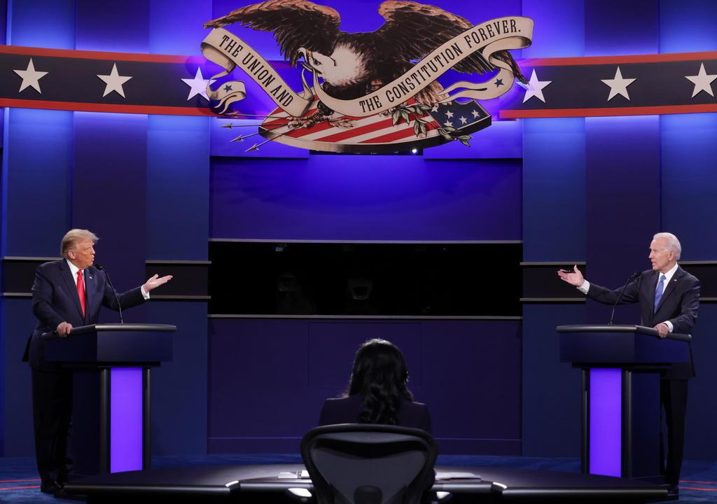 ¿Botón silenciador llegó para quedarse en debates presidenciales de EUA?. Noticias en tiempo real