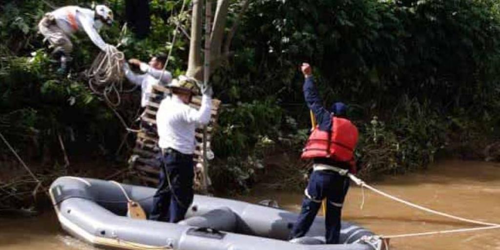 Se suman Ayuntamientos a búsqueda de menor en río de Chiapas. Noticias en tiempo real