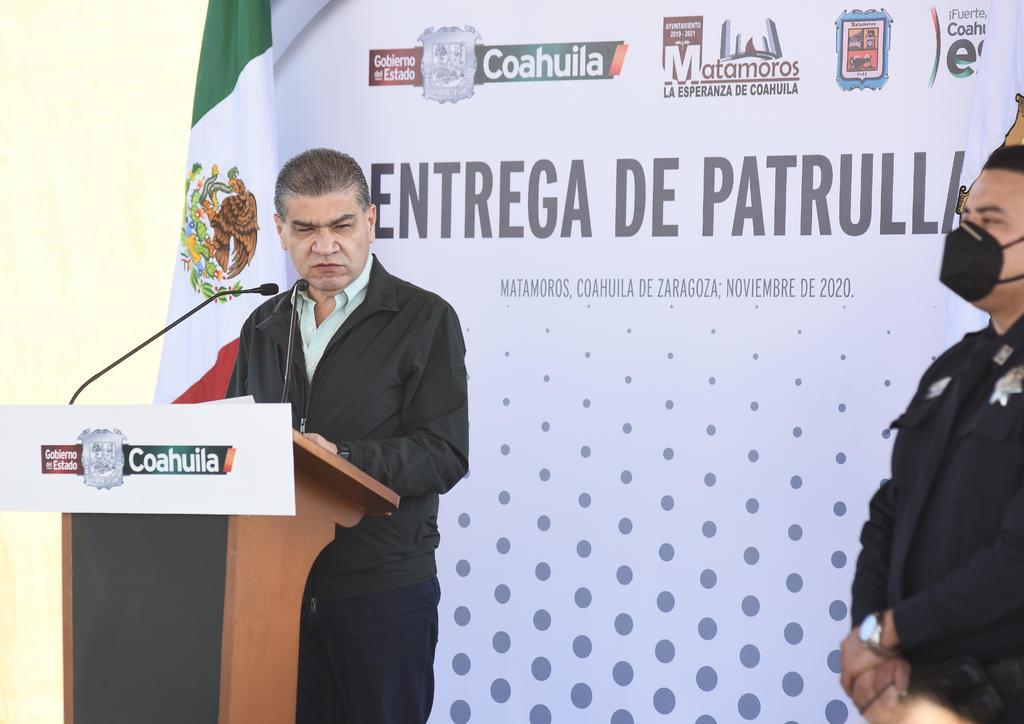 Entrega Riquelme tercer informe de gobierno a Congreso de Coahuila. Noticias en tiempo real