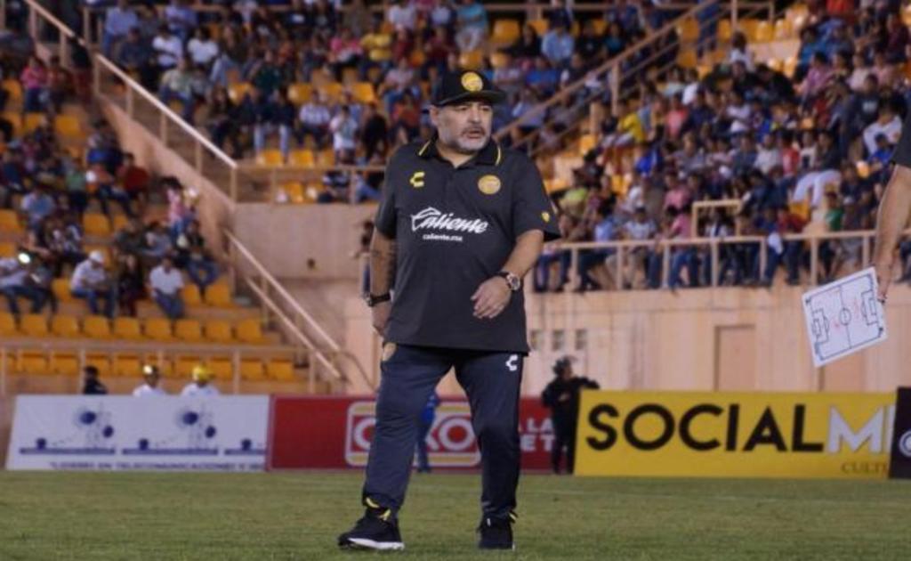 Primera derrota de Maradona como DT en México fue en Oaxaca. Noticias en tiempo real