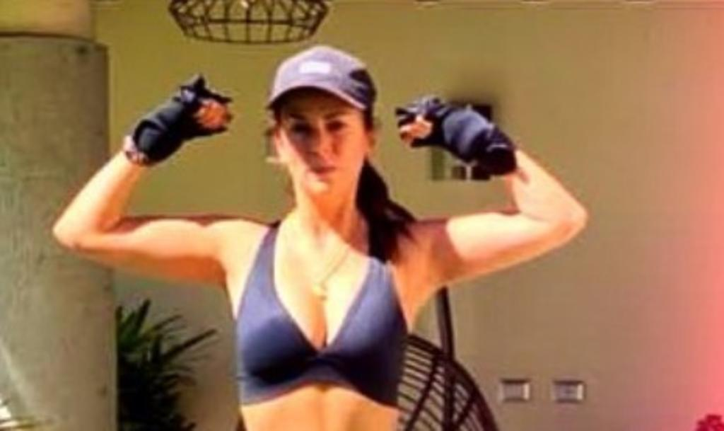 Edith Márquez presume atlética figura a 11 meses de dejar de fumar. Noticias en tiempo real