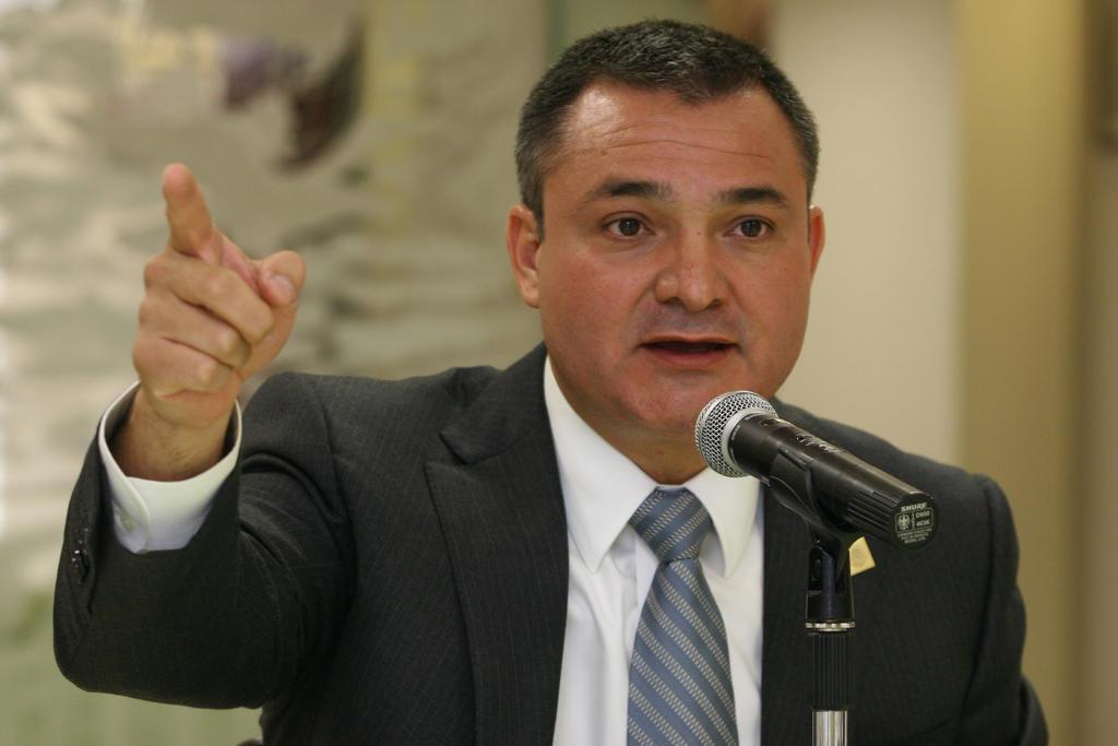 Reportan que FGR solicitó a EUA la extradición de García Luna. Noticias en tiempo real