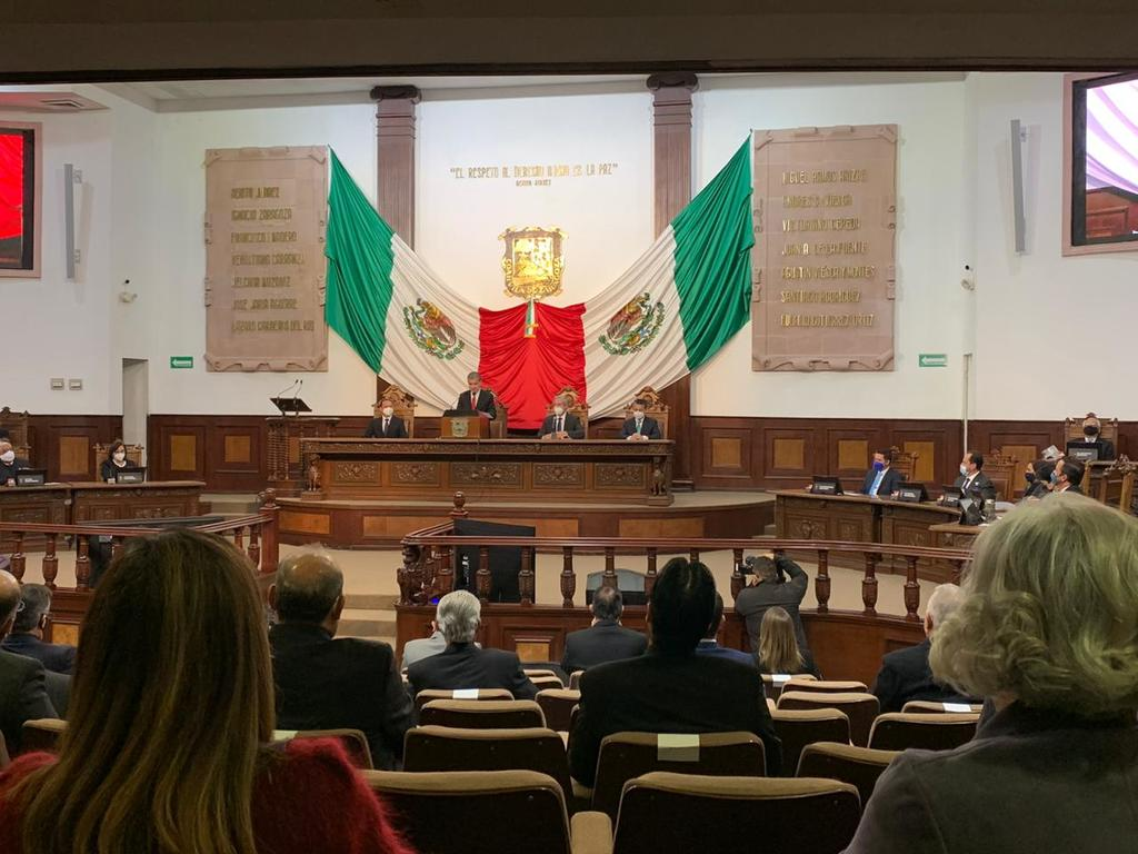 Gobernador de Coahuila rinde su tercer informe de gobierno. Noticias en tiempo real