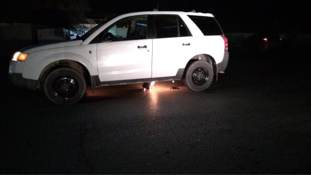 Camioneta arde en llamas en San Pedro. Noticias en tiempo real
