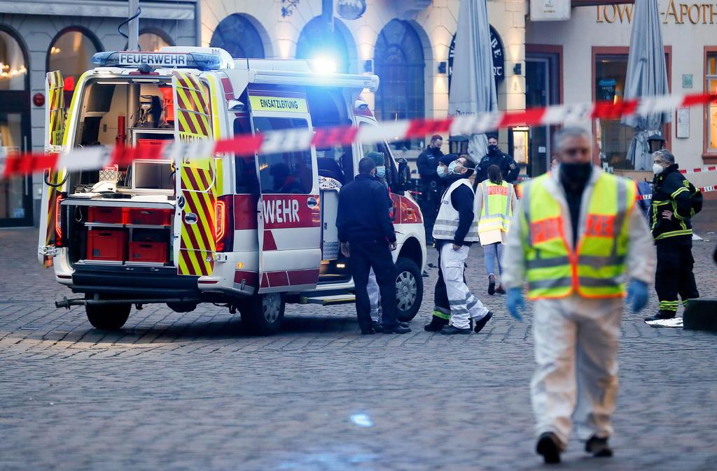 Suman 4 los muertos tras atropello en zona peatonal de Alemania. Noticias en tiempo real