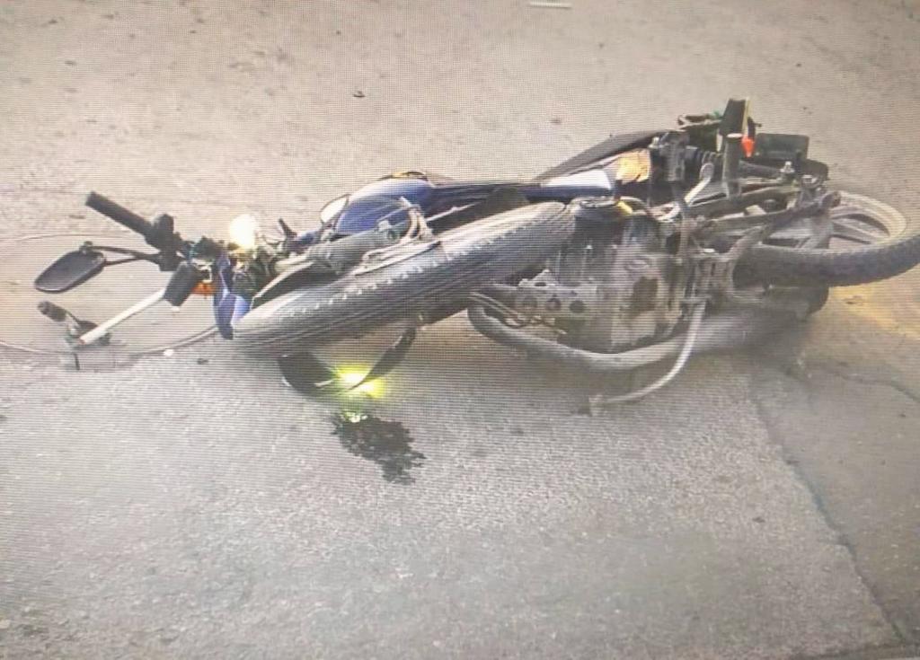 Accidente en Lerdo deja un motociclista lesionado. Noticias en tiempo real