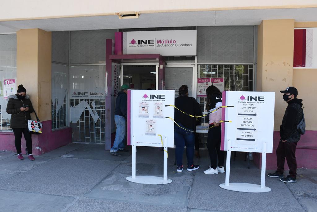 Módulos del INE extienden horario de atención en Torreón. Noticias en tiempo real