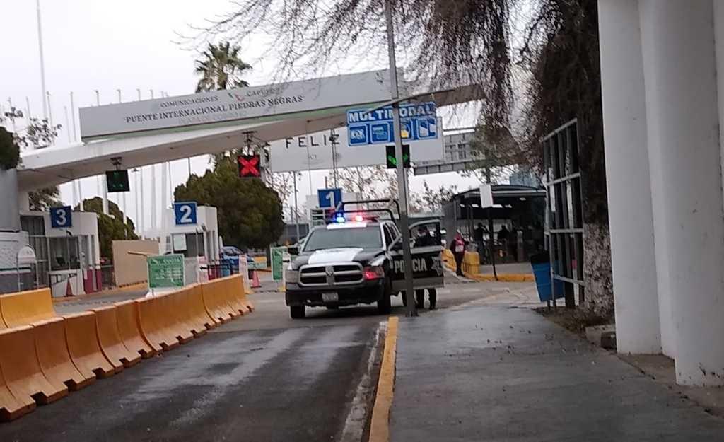 Refuerzan vigilancia en frontera de Piedras Negras con EUA