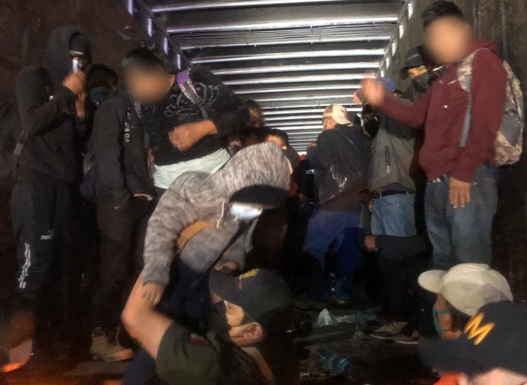 Detienen a 201 migrantes en Chiapas