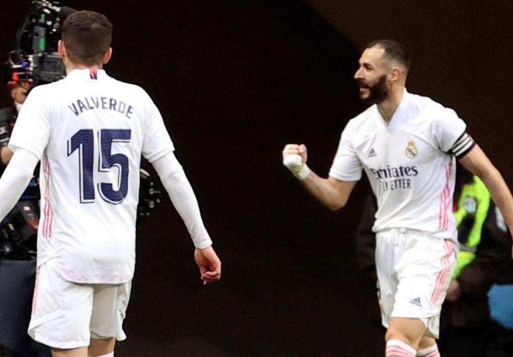 Atlético de Madrid y Real Madrid se reparten los puntos