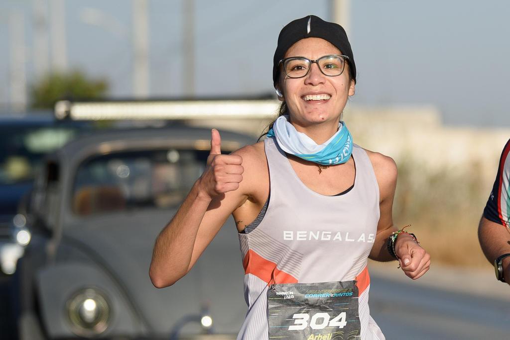 Laguneros realizan Reto Virtual del Maratón Lala