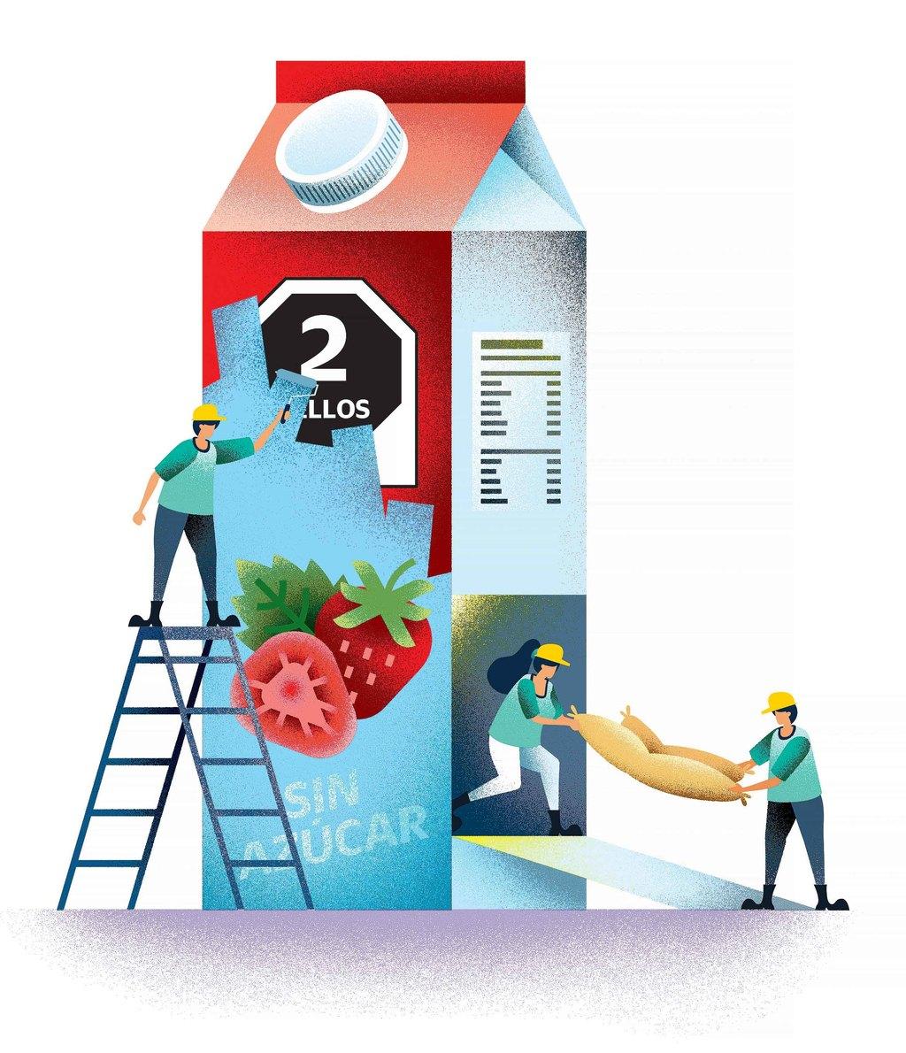 Reformular, opción ante nuevo etiquetado de alimentos y bebidas preenvasados