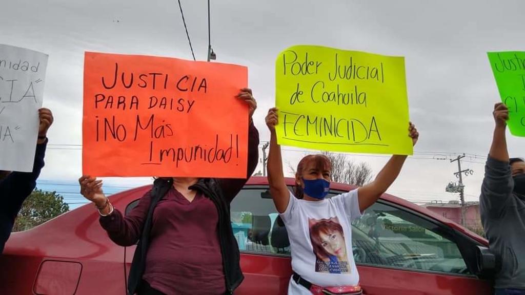 Exigen justicia por feminicidio de Daisy en Coahuila, El Siglo de Torreón