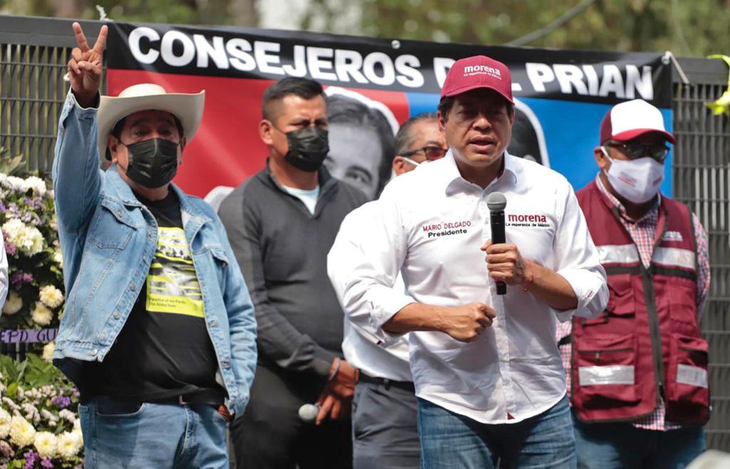 Si tienen fobia a Morena que se afilien a otro partido, dice Mario Delgado sobre consejeros del INE. Noticias en tiempo real