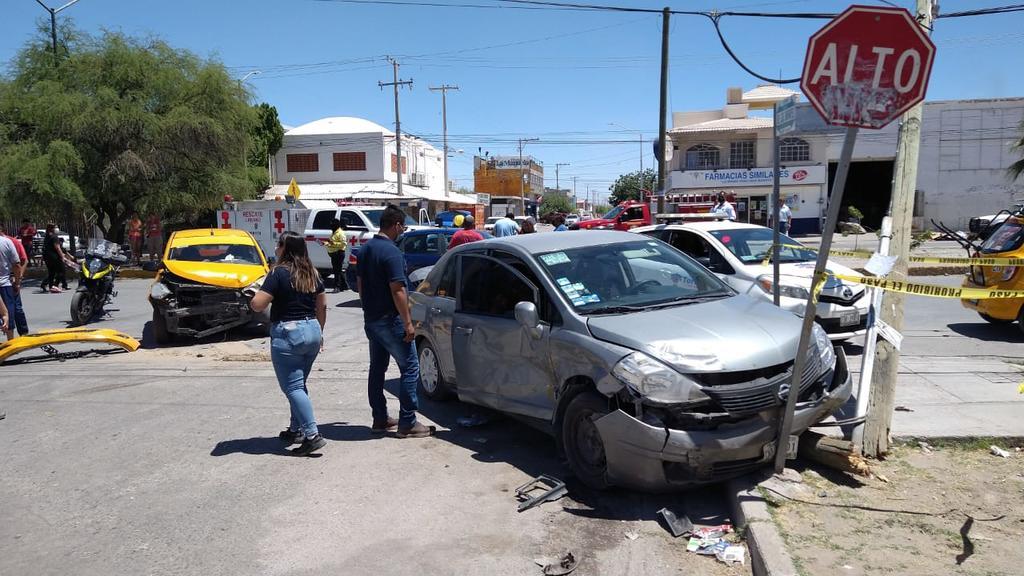 Choque en colonia Rincón la Merced de Torreón deja una menor lesionada. Noticias en tiempo real