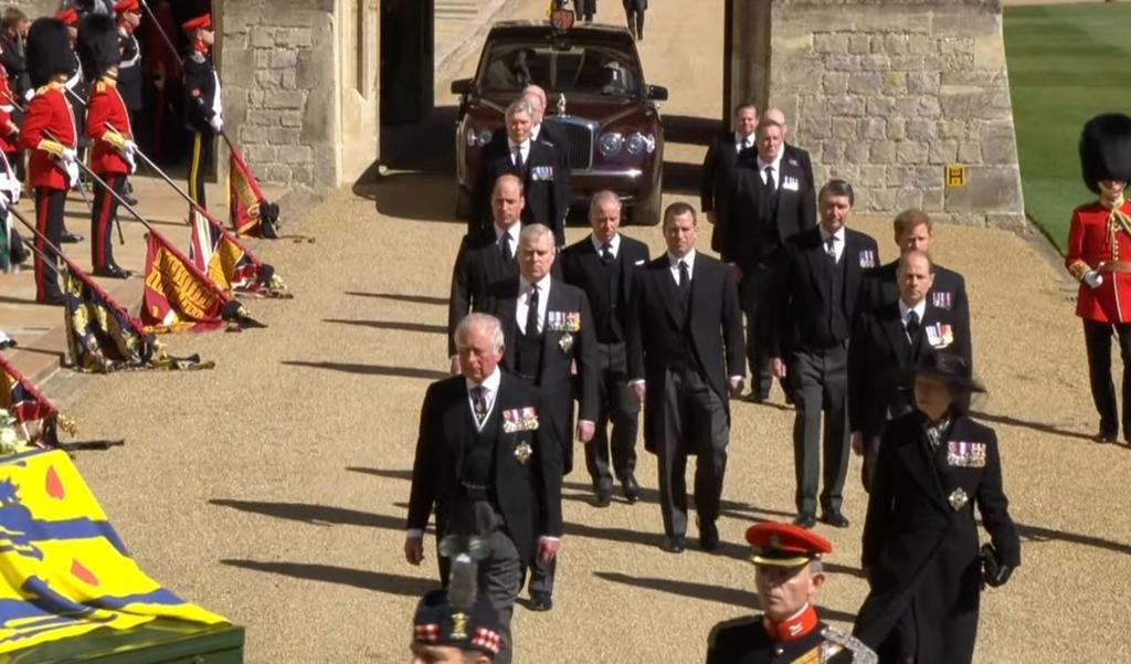 Así se celebró el funeral del príncipe Felipe con apenas 30 invitados. Noticias en tiempo real