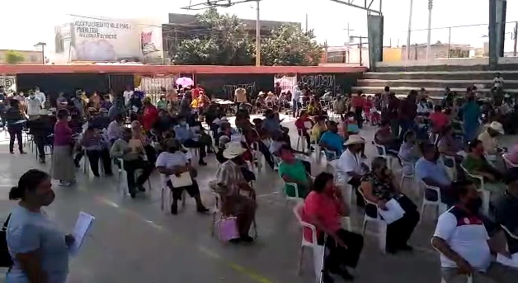 Comienza segunda jornada de vacunación contra el COVID en Matamoros. Noticias en tiempo real