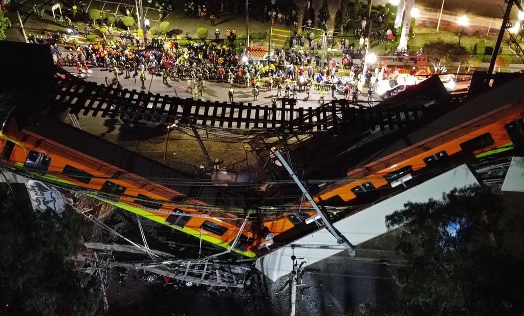 Suman 23 los muertos tras colapso de Línea 12 del Metro en CDMX. Noticias en tiempo real