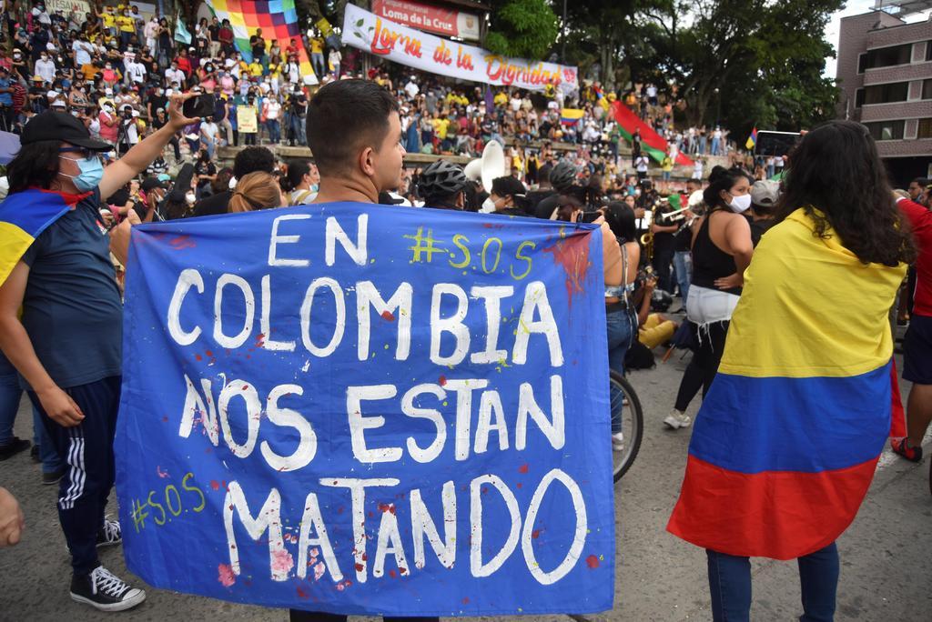 Convocan a movilización en Colombia contra brutalidad policial. Noticias en tiempo real