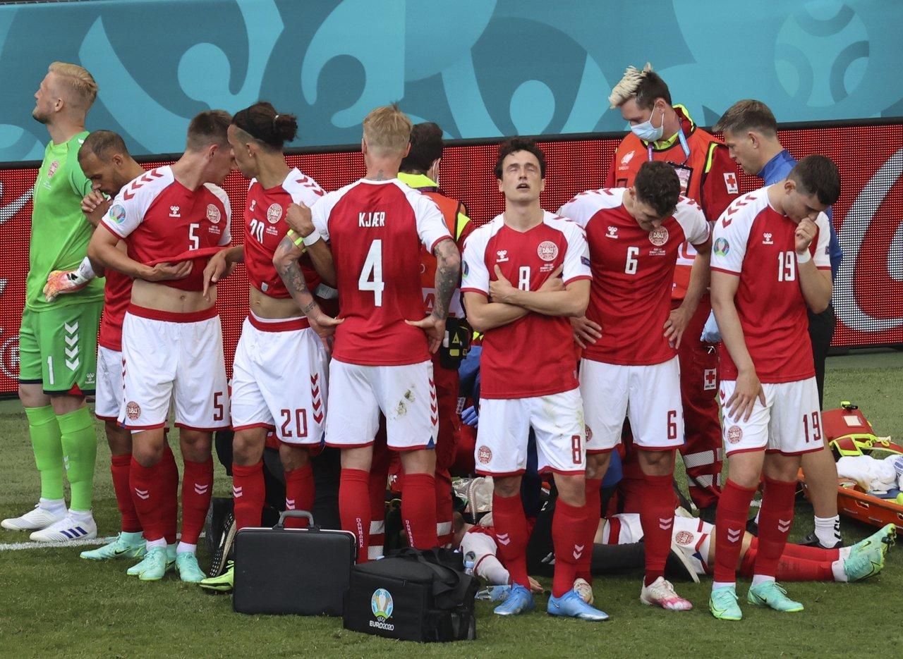 Christian Eriksen, jugador de Dinamarca, se desvanece durante partido de la  Euro 2020, El Siglo de Torreón