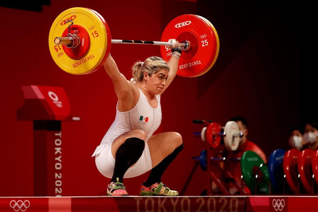 Llega la tercera medalla para México!; Aremi Fuentes levanta el bronce en  halterofilia, El Siglo de Torreón