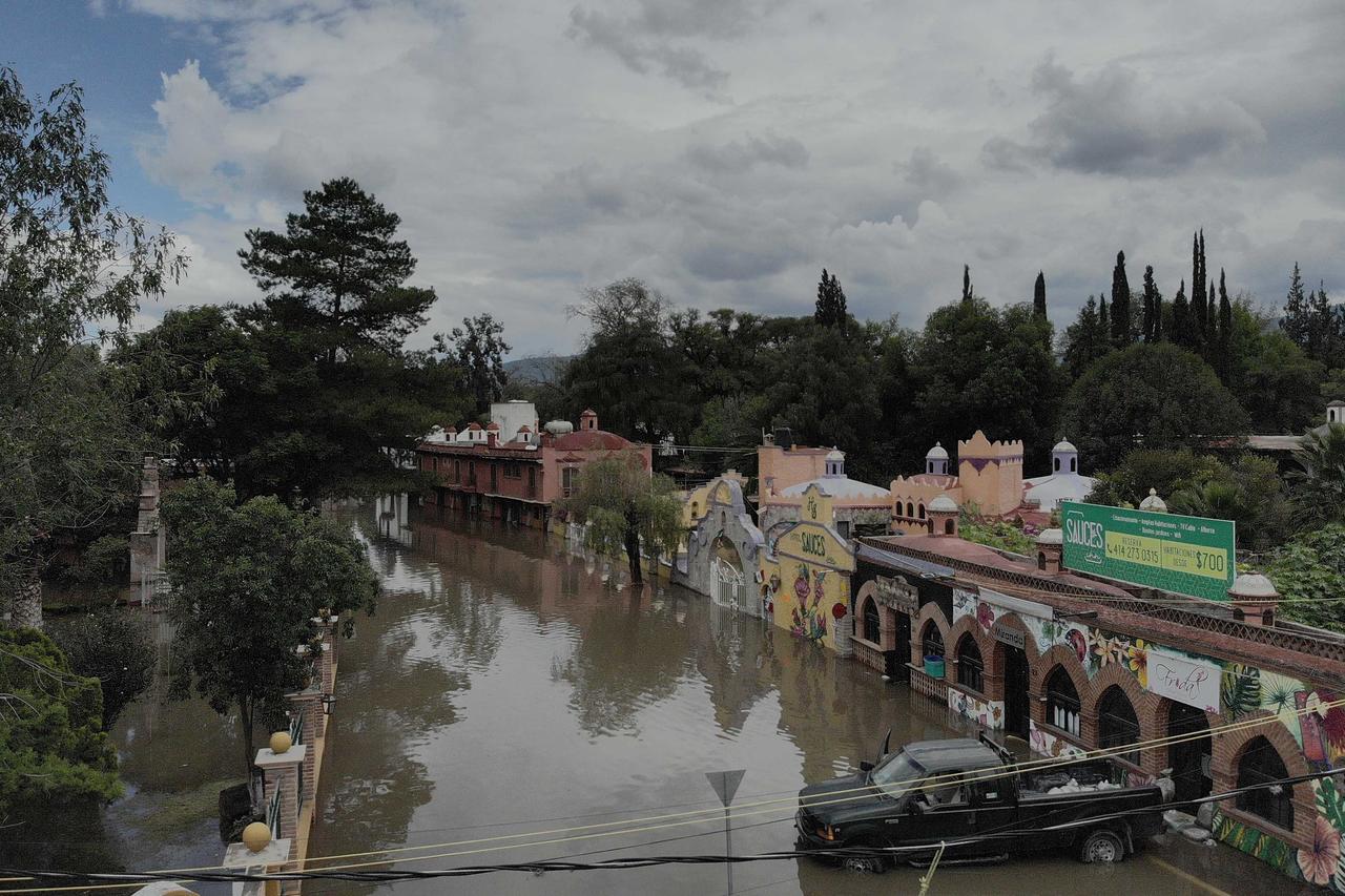 Tequisquiapan se mantiene en semáforo rojo por inundaciones. Noticias en tiempo real