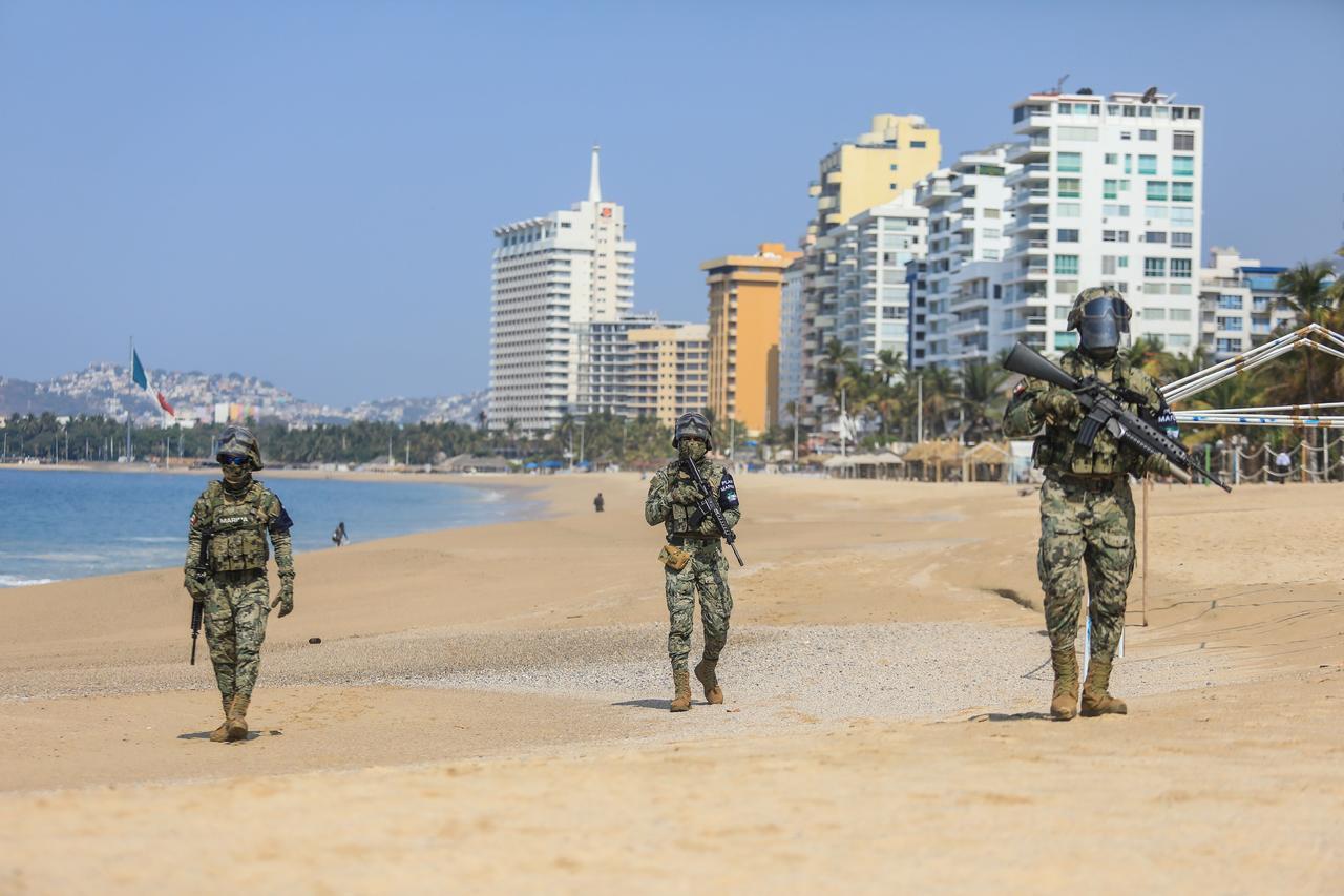 Senadores de EUA piden a Blinken suspender exportación de armas a Marina y Policías en México. Noticias en tiempo real
