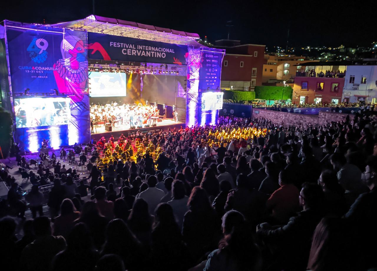 Coahuila y Cuba se hermanan musicalmente en inauguración del Cervantino. Noticias en tiempo real