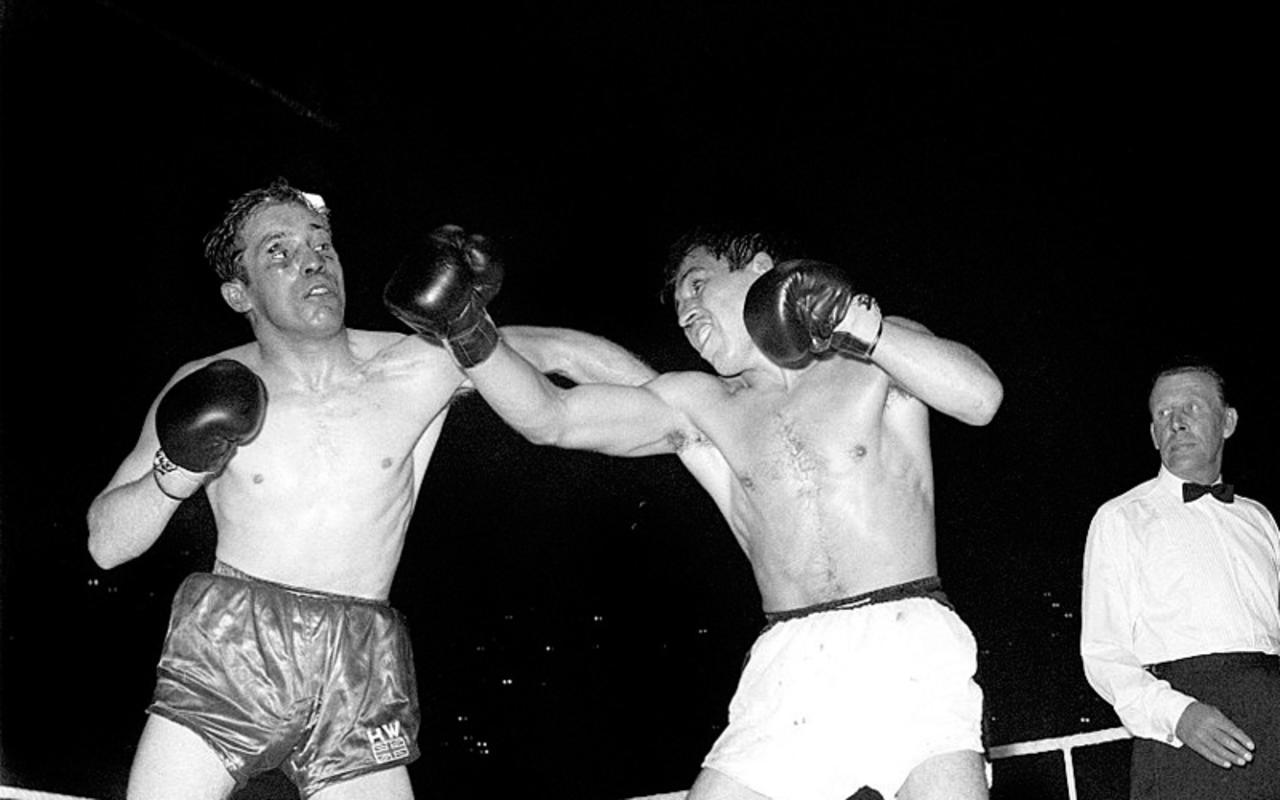 Hace 54 años, el mexicano Vicente Saldívar defendió su título Pluma WBC. Noticias en tiempo real