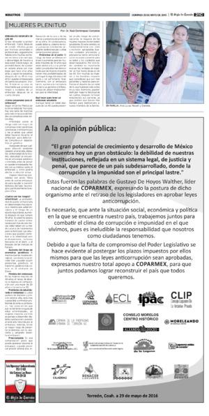 Edición impresa 29torc21