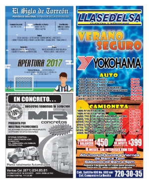 Edición impresa 16onca21