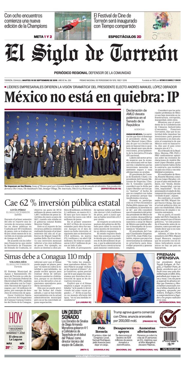portada Torreón
