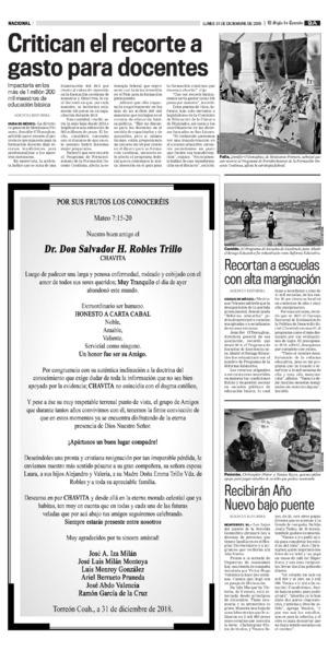 Edición impresa 31tora09